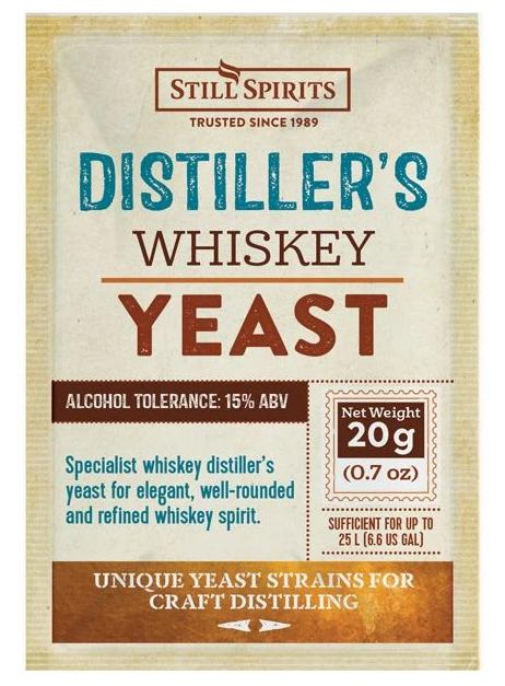 Still Spirits Distiller's Yeast Whiskey, 20g  - OG